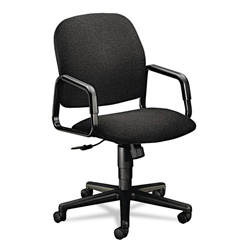 Hon Solutions Seating High-Back Swivel/Tilt Chair, Olefin, Black
