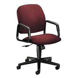 Hon Solutions Seating High Back Swivel/Tilt Chair, Olefin, Burgundy