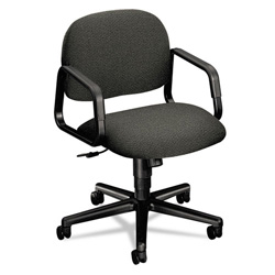 Hon Sensible Seating Series Mid Back Swivel Task Chair, Stain Resistant Gray Fabric