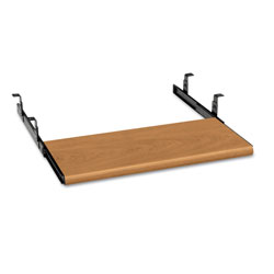 Hon Slide-Away Keyboard Platform, Laminate, 21-1/2w x 10d, Harvest