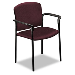 Hon Pagoda 4070 Series 4071 Stacking Chair, Wine
