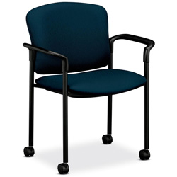 Hon 4070 Series Mobile Guest Chair, Mariner
