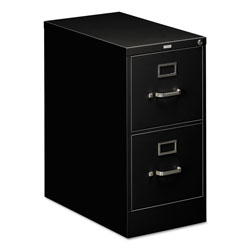 Hon 510 Series Two-Drawer Full-Suspension File, Letter, 29h x25d, Black