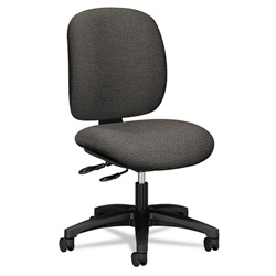 Hon ComforTask Series Swivel Task Chair, Stain Resistant Gray Fabric