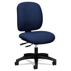 Hon ComforTask Series Swivel Task Chair, Blue
