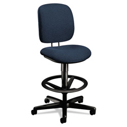 Hon ComforTask Task Swivel Stool, Blue