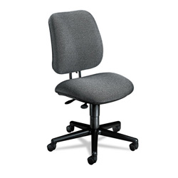 Hon 7700 Series Swivel Task Chair, Stain Resistant Gray Fabric