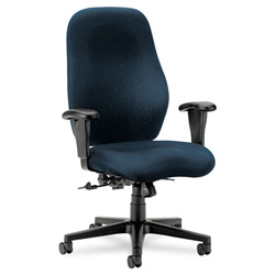 Hon 7800 Series High Back Executive Swivel Task Chair, Dark Blue