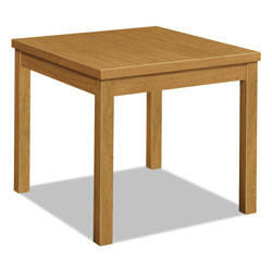 Hon Laminate Occasional Table, Rectangular, 24w x 20d x 20h, Harvest