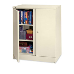 "Hon Easy to Assemble Storage Cabinet, 42.75""-High, 36"" x 18"", Putty"