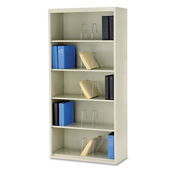 "Hon 600 Series File Shelf, 36"", 6 Shelves, Legal Size, Putty"