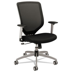 Hon Boda Series High Back Swivel Task Chair, Black Mesh Fabric