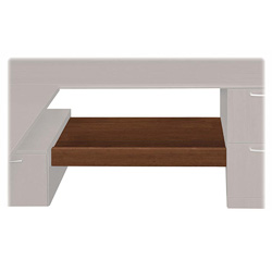 "Hon Attune Series Under Credenza Storage Shelf, 54-1/2x15"" x 14"", Cherry"