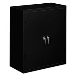 "Hon Assembled Storage Cabinet, 41.75""-High, 36"" x 18.25"", Black"