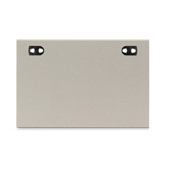 Hon II Partition Panel Rectangular Worksurface, 37w x 24d, Gray