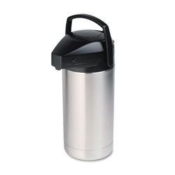 Hormel Commercial Grade 3 1/2 Liter Jumbo Airpot, Stainless Steel Finish
