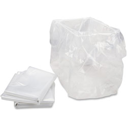 "HSM Shredder Bag, f/HSM Models, 13"" x 10"" x 24"", 100BG/CT, Clear"
