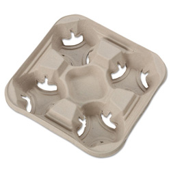 Huhtamaki Cup Holder Tray, 8-32 OZ.