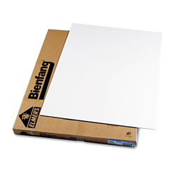 Hunt Foam Board, White Surface with White Core, 30 x 40, 10 Boards/Carton