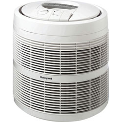 Honeywell Enviracaire Round Series HEPA Air Purifier for up to 17x22 Foot Room, 250 CADR
