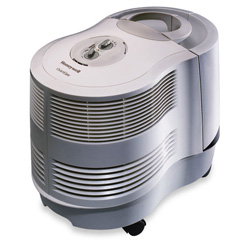 Honeywell Quietcare Console Humidifer, 9-Gallon Capacity, Tan, 15w x 23-1/8d x 17-1/8h