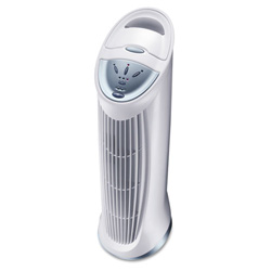Honeywell Three-Speed QuietClean Tower Air Purifier, 124 sq ft Room Capacity