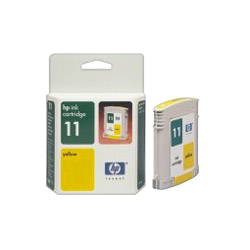 HP 11 Print Cartrid1 x Yellow 1750 Pages
