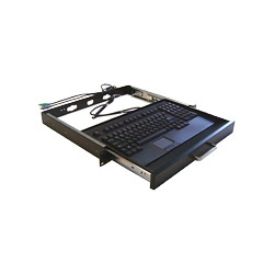 Adesso Rackmount Keyboard Drawer with Built-in Touchpad Keyboard ACK-730UB-MRP - Keyboard , Touchpad
