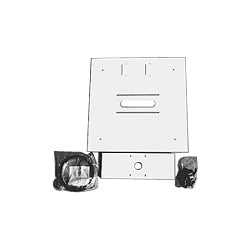 Premier Mounts PP-FCMA - Mounting Component (Ceiling Plate) For Projector - White