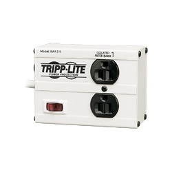 Tripp Lite Isobar 2 Surge Suppressor (External) - AC 120 V - 2 Output Connector(s) - Canada, United States