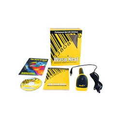 Wasp Nest WLR8900 CCD LR Barcode Scanner Suite - USB - Complete Package - 1 User - CD - Win