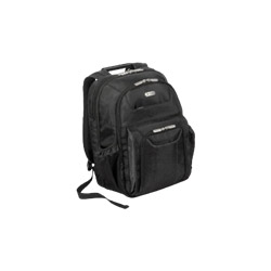 Targus Zip-Thru Air Traveler Backpack - Notebook Carrying Backpack