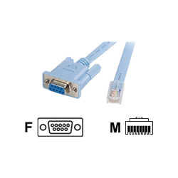Startech Cisco Console Management Cable - Serial Cable - 6 Ft