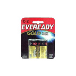 Energizer Eveready Gold Battery - C - Alkaline X 2