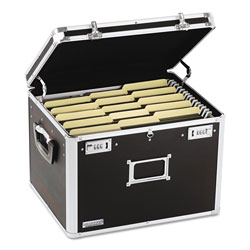 Ideastream Letter/Legal Locking Chest, 17 1/2w x 14d x 12 1/2h, Black
