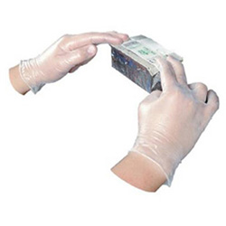 Impact Disposable Vinyl Powdered Gloves, General Purpose, X-Large, 100/Box