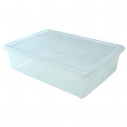 "Iris Snap tight Clear Modular Container, 16"" x 24"", 6.31"" h"