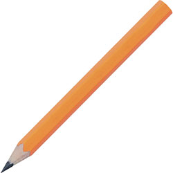 "Integra 3 1/2"" Pre-Sharpened Wood Golf Pencil"