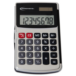 Handheld Calculator with Hard Flip Case