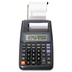 Innovera 16010 1 Color Portable Printing Calculator, 12-Digit LCD