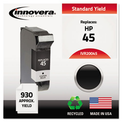 Innovera Remanufactured 51645A (45) Ink, Black