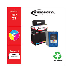 Innovera Remanufactured C6657AN (57) Ink, Tri-Color