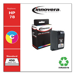Innovera Remanufactured C6578DN (78) Ink, Tri-Color