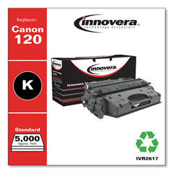 Innovera Remanufactured 2617B001AA (120) Toner, Black