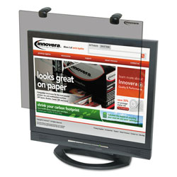 Innovera Protective Antiglare LCD Monitor Filter, Fits Notebook/LCD To 15