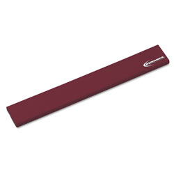 Innovera Natural Rubber Keyboard Wrist Rest, Burgundy