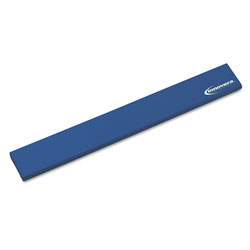 Innovera Natural Rubber Keyboard Wrist Rest, Blue