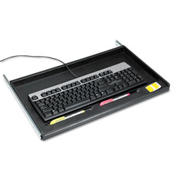 Innovera Standard Underdesk Keyboard Drawer, Black