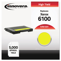 Innovera Remanufactured 106R00682 (6100) High-Yield Toner, Yellow