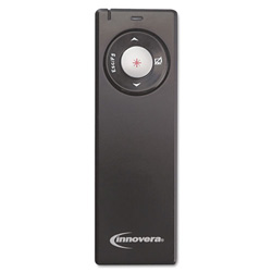 Innovera Wireless Presenter w/Laser Pointer, Matte Black